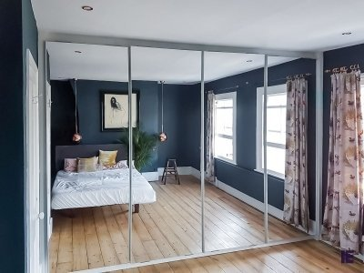 Mirror Sliding wardrobes
