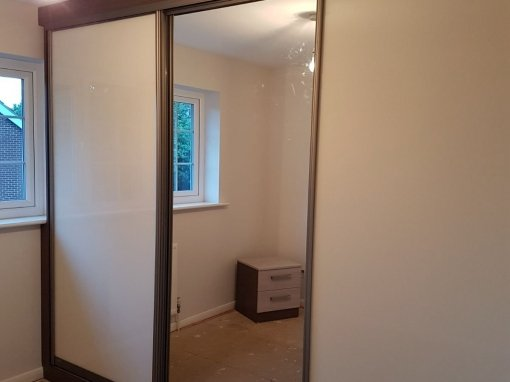 Fitted slidding wardrobes project in Knightsbridge – Westminster