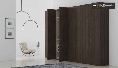 Hinged wardrobes design