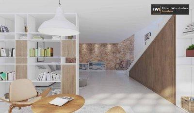 loft angled wardrobes
